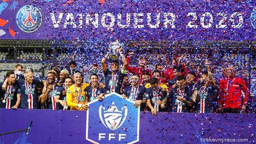 ПСЖ го освои францускиот куп