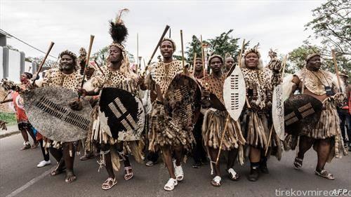 Денот на Шака Зулу во Јужна Африка