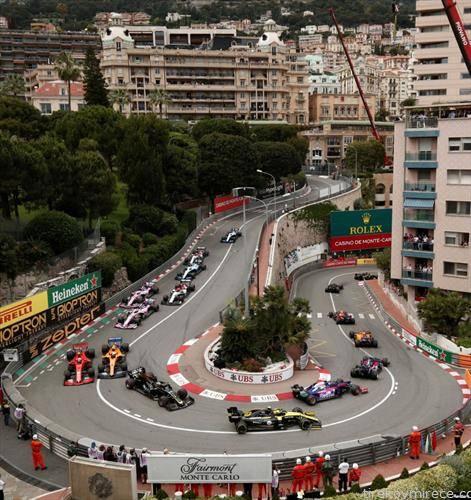 Ф1 трката  во Монте Карло