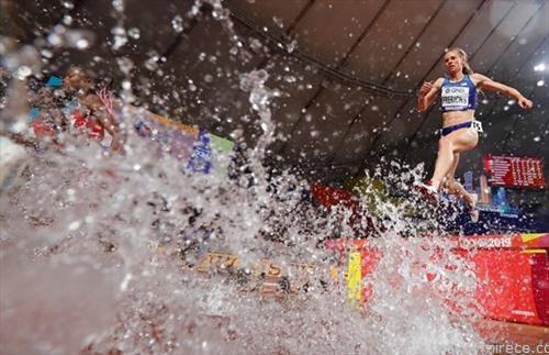 светско првенство во атлетика, во Доха, трка на 3000 метри стпл чез жени