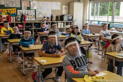како се заштитни учениците во Јапонија  и