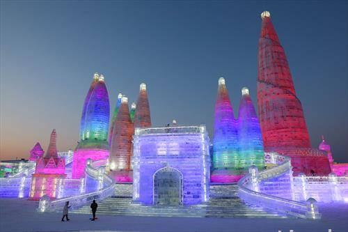 градот од мраз, во Кина