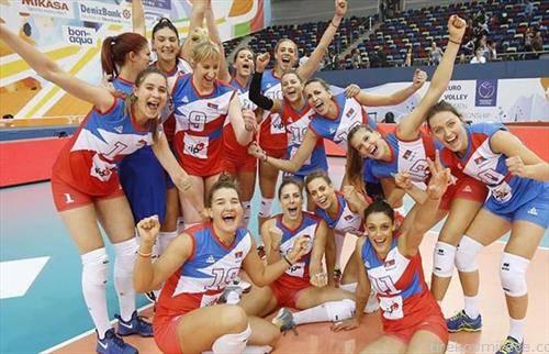 Одбојкарската селекцијата на Србија триумфираше на женското Европско првенство во Баку