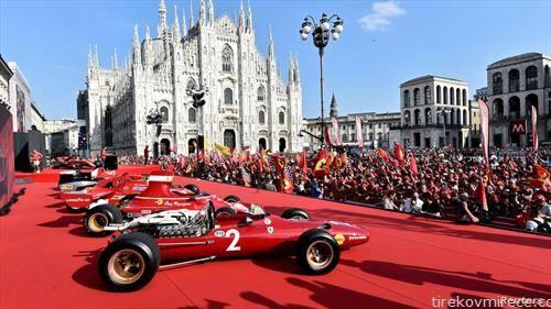 тимот на ферари на Ф1 низ годините