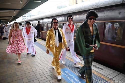 стигнуваат гостите на Елвис Присли фестивалот во Сиднеј