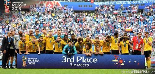 Белгија е трето пласирана на СП во фудбал