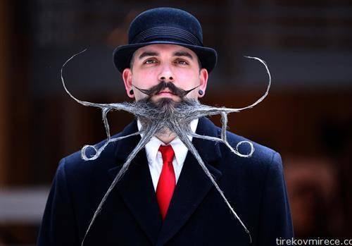 Во Антверпен Белгија се одржа Светско првенство на брада и мустаќи