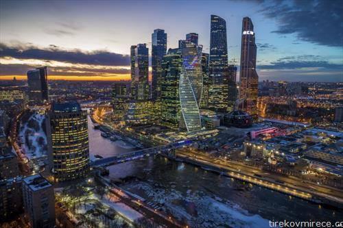 зајдисонце во Москва