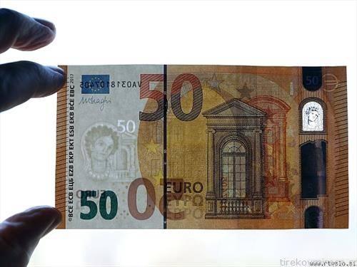 нова банкнота од 50 евра