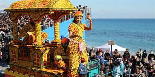 Боливуд е темата на годинашниот, 85. по ред Фестивал на лимонот, што се одржува до 4 март во градот Ментон,