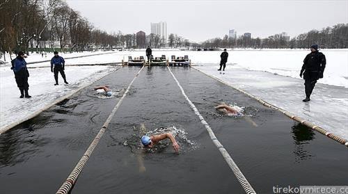 Во Минск, Белорусија се одржа зимско првенство во  пливање