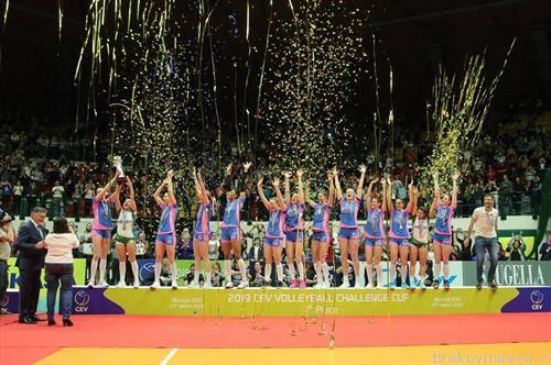 екипата на Монца го освои во женска конкуренција одбојкарскиот Челенџ куп