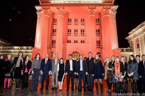 Владата осветлена во портокалово – стоп за насилството врз жените