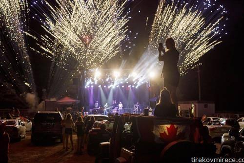 со концерт се одбележува независноста на Канада 1-ви јули