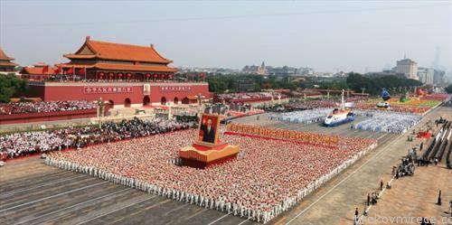 воена парада во Пекинг 70 години комунизам