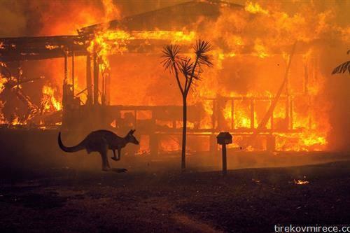 Австралија гори