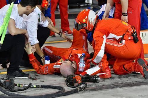 механичарот на Ферари кој го собра нивниот возач Раиконен