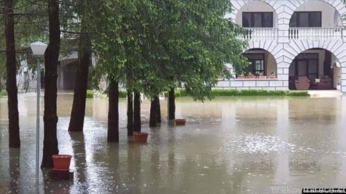 Балканот со поплави, Бихаќ под вода