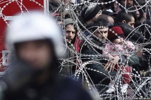 турско -грчката граница преполна со мигранти