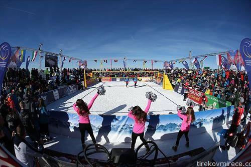 во Австрија се одржа првото европско првенство одбојка на снег