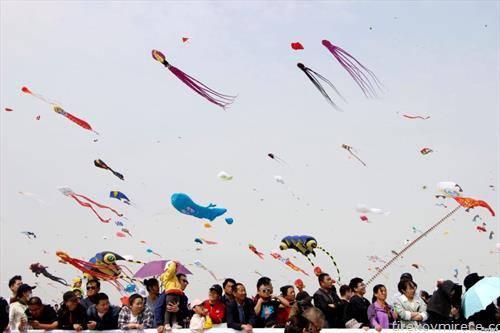 летање на земјови во кинеска провинција