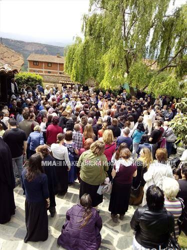 Одбележан патронот на манастирот Свети Георгиј Победоносец  во Рајчица