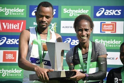 на маратонот во Париз победија етиопјани
