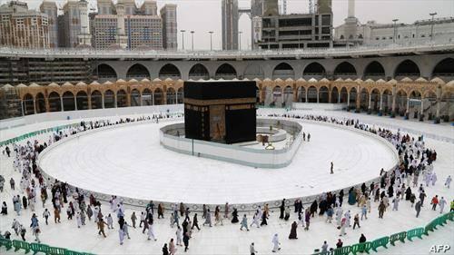џамијата во мeка празна