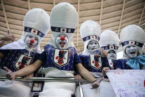 навивачите на Јапонија на СП во Русија