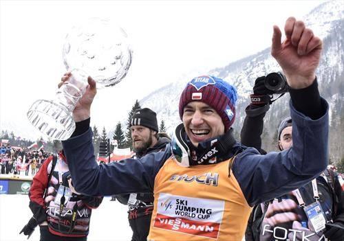 полјакот Стох го освои златниот глобус во ски скоковите годинава