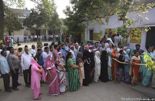 Маратонското гласање на парламентарните избори во Индија заврши по над пет недели со последната, седма фаза
