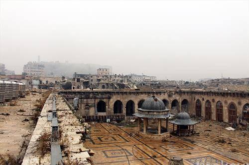 Алепо Сирија - уште една тешка година