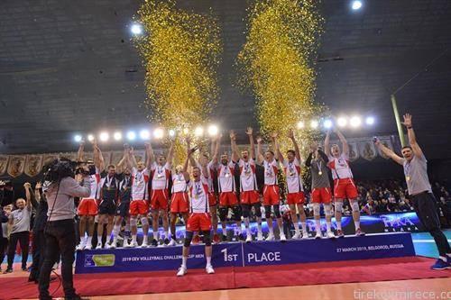 екипата на Белгород од Русија го освои одбојкарскиот  Челенџ куп