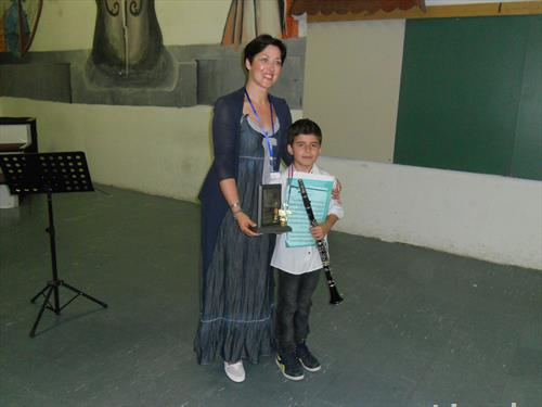 Олег Најдовски со наградата Томислав Димов