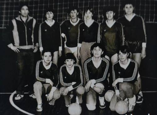 првата екипа на ЖОК Борец