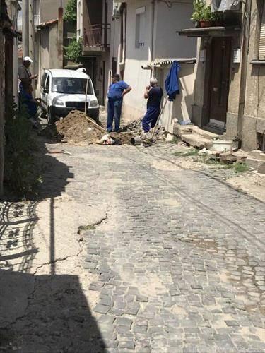 дефектот на улица Кирил Пејчиновиќ