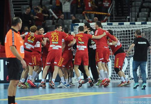 Македонија со победа над Слвоенија, го започна ЕП  во ракомет, во Хрватска
